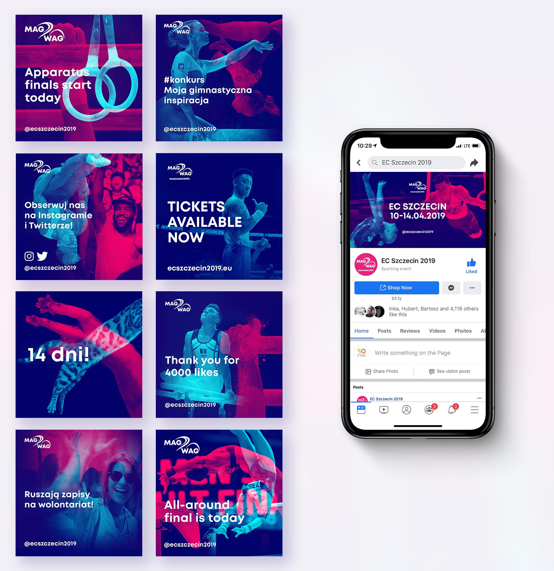 EC Szczecin 2019 - piękny sport|piękny projekt