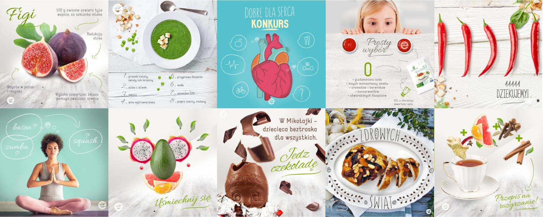 e-condimenta - Kocham życie, |jem zdrowo